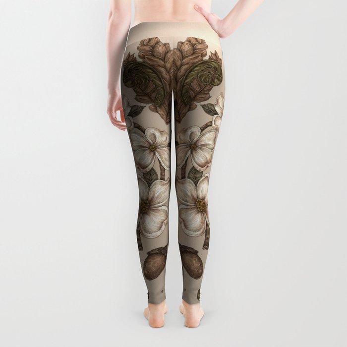 Nature Walks (Light Background) Leggings