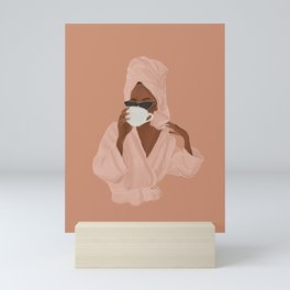 Treat Yourself Mini Art Print