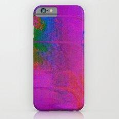 11-23-56 (Moving Circles Glitch) Slim Case iPhone 6s