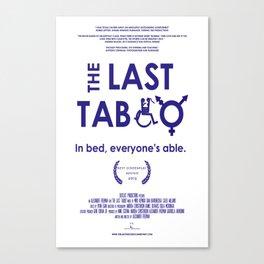 The Last Taboo Documentary   Canvas Print