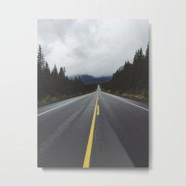 icefields parkway Metal Print