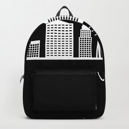skyline las vegas Backpack
