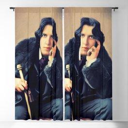 Oscar Wilde, Author Blackout Curtain