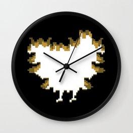 Bat Feet Wall Clock