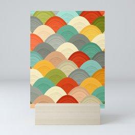 yarn hill dollops Mini Art Print