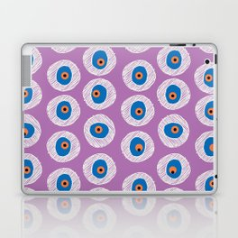 Evil Eye Charm - Radiant Orchid  Laptop & iPad Skin