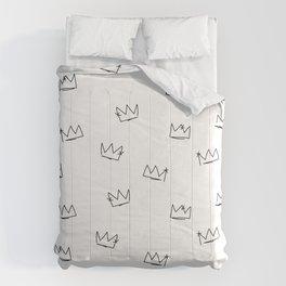 Crowns Reverse Comforters