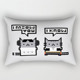 I Meow You - Cat Wars Rectangular Pillow