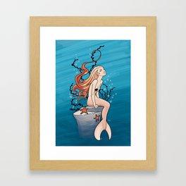 Deep Dreamer Framed Art Print