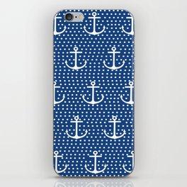 Dots & Anchors iPhone Skin