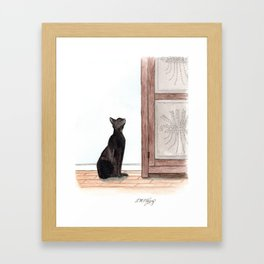 What's Up There? Framed Art Print
