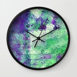 COLLAGE LOVE: MYSTIFY Wall Clock