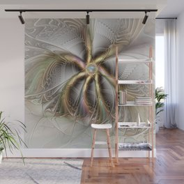 Wall Decor, Abstract Fractal Art Wall Mural