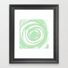 Swirl Sage Framed Art Print
