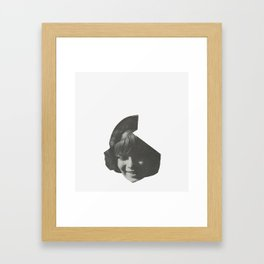 child. Framed Art Print
