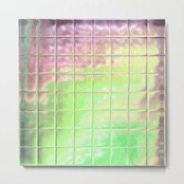 Square Glass Tiles 219 Metal Print