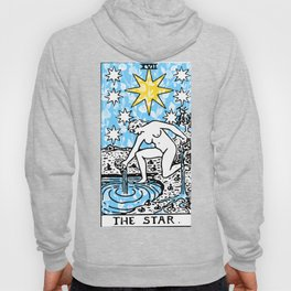 The Star - A Floral Print Hoody