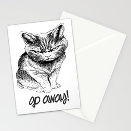 Go Away Stationery Cards