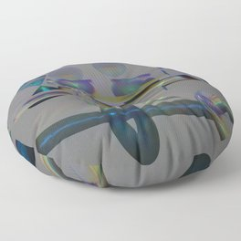 New Diffraction POV Ray Tracing Floor Pillow