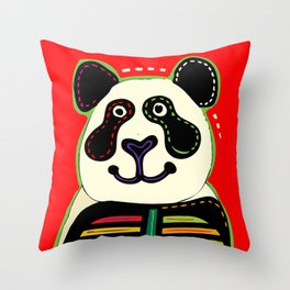 SERGE-PICHII-PANDEMIA_0003 Throw Pillow