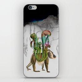 Mandrillus evolution iPhone Skin