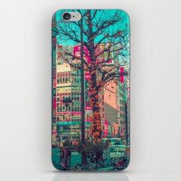 TOKYO CITY TREE iPhone Skin