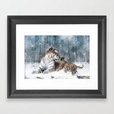 Tigers Framed Art Print