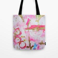 Pink Glam Tote Bag