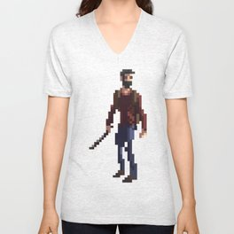 Joel The last of us Unisex V-Neck