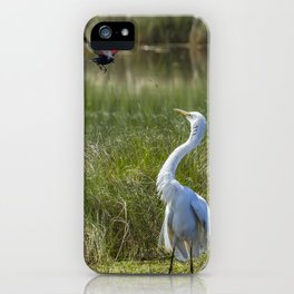 A Disagreement at the Pond iPhone Case