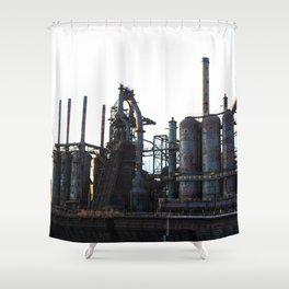 Bethlehem Steel Blast Furnaces 2 Shower Curtain