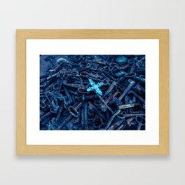 Crossraods Framed Art Print