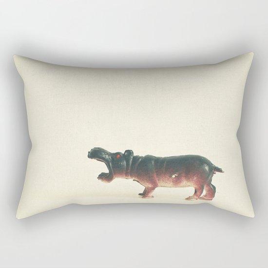 Hungry Hippo Rectangular Pillow