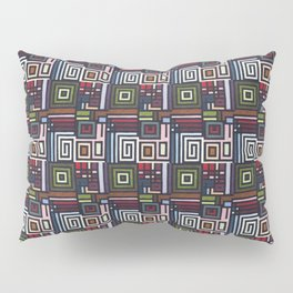 Border Pattern Design (1) Pillow Sham