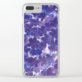 Clover VII Clear iPhone Case