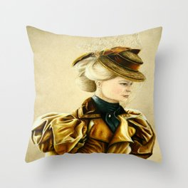 Edith Cushing Throw Pillow