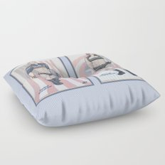 Steve Rogers and Bucky Barnes Calendar Boys Floor Pillow
