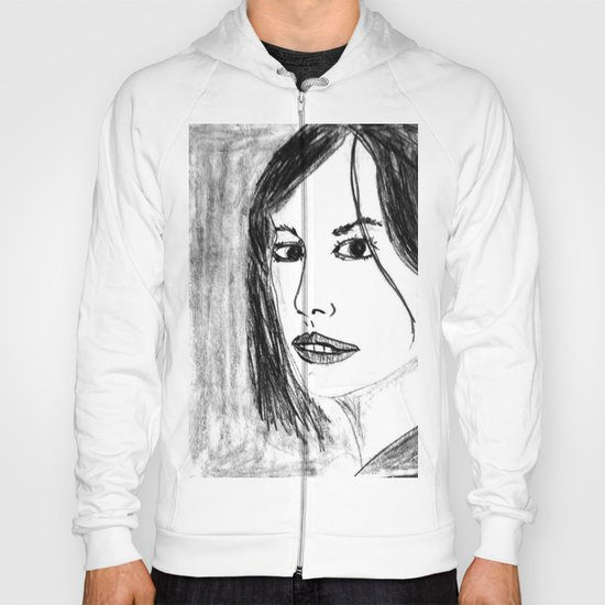 THE UNKNOWN GIRL Hoody
