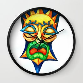 Tutantiki Wall Clock