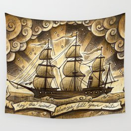 Sailing Winds Wall Tapestry