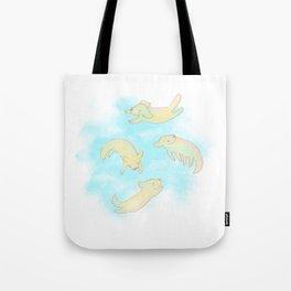 GoldAngels Tote Bag