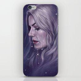 Stars Fall Silent iPhone Skin