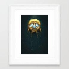 Gilded III Framed Art Print