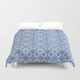 Azulejo Portuguese Duvet Cover