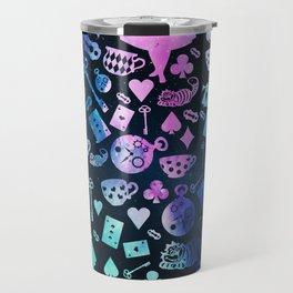 Alice in Wonderland - Galaxy Travel Mug