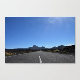 A kind of Route 66. Canvas Print