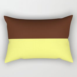 Choc Custard Rectangular Pillow