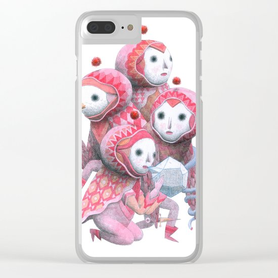 The Band Clear iPhone Case