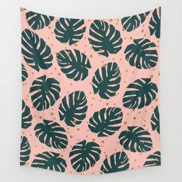 Tropics Green Wall Tapestry
