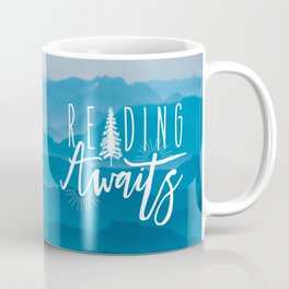 Reading Awaits - Blue Mountains Coffee Mug